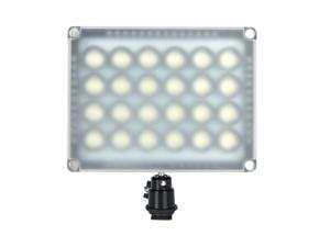 WANSEN W24 24 LED Video Light Lamp 20W 2300LM Dimmable for Canon Nikon Pentax DSLR Camera Video Camcorder