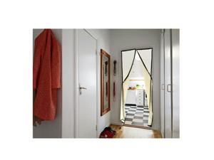 Hands-free Magic Mesh Magnetic Screen Door Curtain Anti-Mosquito/Bug Beige