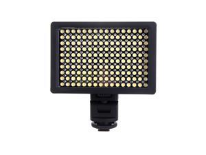 HD-160 160 LED Video Light Lamp 9.6W Dimmable for Canon Nikon Pentax DSLR Camera Video DV Camcorder