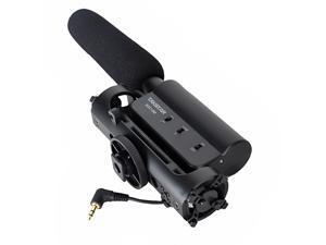 Condenser Photography Interview Recording Microphone for Canon Nikon Camera DSLR DV SGC-598