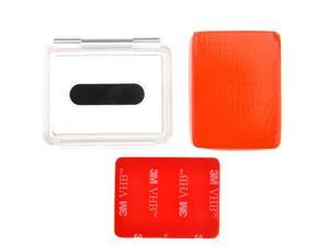 Floaty Float + Waterproof Backdoor Case with 3M Adhesive for GoPro Hero1 2 3 ST-74