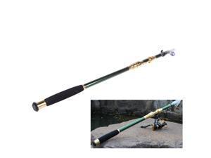 2.1M 6.89FT Portable Telescope Fishing Rod Travel Spinning Fishing Pole