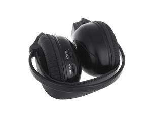 Infrared Stereo Double-channel Wireless Headphone Headset IR Car Headrest DVD Player
