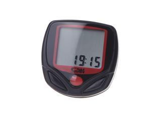 Sunding SD-548B Wired Bike Bicycle Cycle Computer Odometer Speedometer LCD Waterproof 14 Functions