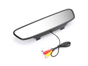 "5"" Digital Color TFT LCD Car Rearview Mirror Reverse Monitor for Camera DVD VCR"