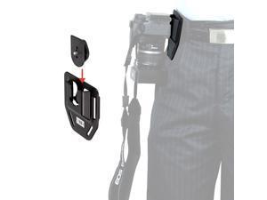 Universal NG-K01 Camera Belt Button Holder Hard Plastic for Canon Nikon DSLR SLR Camera