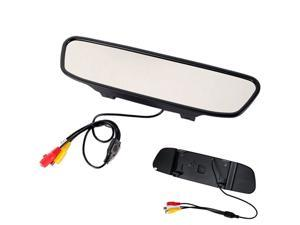 "4.3"" Color TFT LCD Car Rearview Mirror Monitor for DVD Camera VCR"