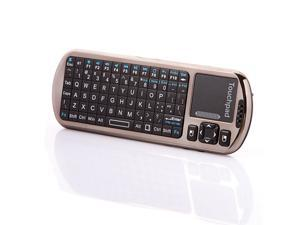 iPazzPort Mini Bluetooth Keyboard with Smart/Android TV IR Remote & Voice