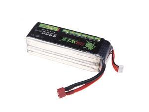 Oriainal Lion Power Lipo Battery 14.8V 5200Mah 30C MAX 45C T Plug for RC Car Airplane Helicopter DJI F550 S800 FPV Multirotor Part (Lion Power Lipo Battery &#59;14.8V 5200Mah 30C,DJI FPV Battery)
