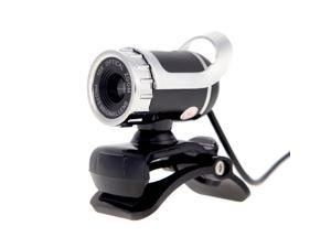 USB 2.0 50 Megapixel HD Camera Web Cam 360 Degree with MIC Clip-on for Desktop Skype Computer PC Laptop
