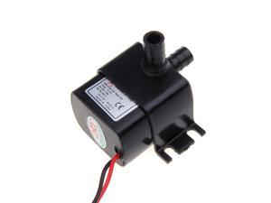 Ultra-quiet Mini DC12V Micro Brushless Water Oil Pump Submersible 240L/H 5W Lift 3M