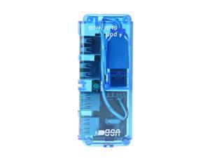 New 4 Port Mini USB 2.0 HUB High Speed 480 Mbps