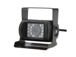 """18 IR Reversing Camera Night Vision+ 7"""" LCD Color Car Rear View Backup Parking Mirror Monitor"""