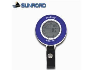 Sunroad SR204 Mini LCD Digital Fishing Barometer Altimeter Thermometer Waterproof Multi-function