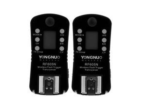 YONGNUO RF605N Wireless Flash Trigger & Shutter Release 16 Channels for Nikon Cameras + dodocool® Magic Smart Cleaning Cloth Screen Cleaner(A Gift)