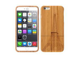 Lightweight Bamboo Fashion Environmental Pattern Protective Case Back Cover for iPhone 6 Plus
