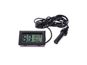 Mini LCD Digital Thermometer Humidity Hygrometer Temp Gauge Temperature Meter Monitor