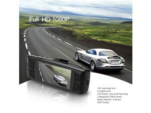 NTK96650 Portable FULL HD 1080P Car DVR Camera 148° G-Sensor H.264 WDR Vehicle Video Recorder AT800