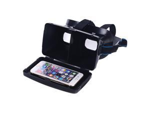 "Portable Plastic 3D VR Glasses Virtual Reality DIY 3D Video Glasses for Android  IOS 3.5 ~ 6.0"" Smart Phones"