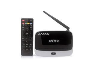 CS918 Android 4.4 TV Box Player Quad Core 2GB/16GB XBMC WiFi 1080P with Remote Control US Plug