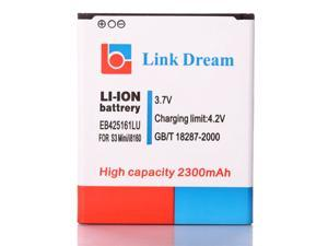 Link Dream 3.7V 2300mAh Rechargeable Li-ion Battery Replacement for Samsung Galaxy EB425161LU SIII 3 Mini GT-i8190 I8160