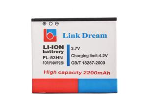 Link Dream Link Dream 3.7V 2200mAh Rechargeable Li-ion Battery High Capacity Replacement for LG FL-53HN P990 P920