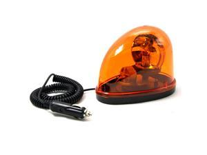 New Magnetic Teardrop Shape DC12V Rotate Beacon Amber Warning Light Emergency Car Truck External Light