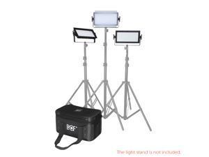 DOF 3pcs C500 LED Video Light Kit 5600K Studio Panel Lighting TV Broadcasting Daylight Fill-in Light