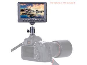 "Feelworld A5 5"" Aluminum Ultra HD LCD Field 800*400 SDI Video On-Camera Monitor Peaking Focus Assist HDMI for Canon 5D II Nikon DSLR Camera Camcorder"