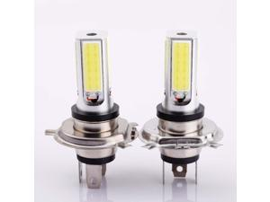 A Pair of H4 24W High Power Auto Vehicle COB LED Fog Daytime Running Light DRL Lamp White