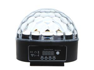 Digital LED RGB Crystal Magic Ball Effect Light DMX 512 Disco DJ Stage Lighting