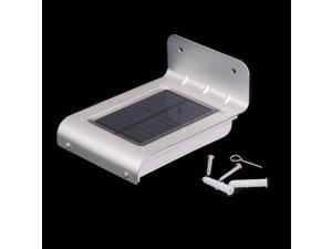 16 LED Solar Power Light Sound Motion Sensor Powered Lamp Energy Saving Wall Garden Yard Street Outdoor Lighting