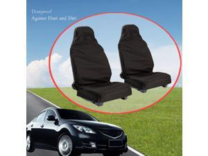 2pcs Universal Car Van Front Heavy Duty Dustproof Polyester Protectors Seat Covers
