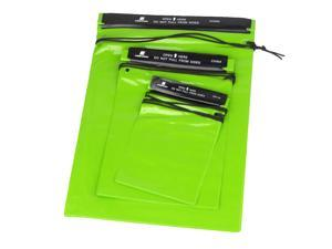 3Pcs Waterproof Storage Bags Pouches for Outdoor Swimming Hiking