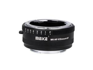 MeiKe MK-NF-E Auto Focus Lens Mount Adapter Ring All Metal for Nikon F Lens to Sony Mirrorless E Mount Camera 3/3N/5N/5R/7/A7 A7R Full Frame