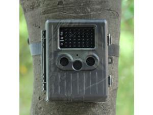 TOMTOP HT-002AA Wildlife Hunting Camera HD Digital Infrared Scouting Trail Camera IR LED Video Recorder - 12MP Rain-Proof