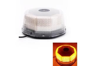 240 LED Beacon Light Magnetic Emergency Warning Flashing Strobe Light Amber Yellow