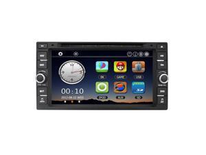 Universal Car Radio Double 2 Din Car DVD Player GPS Navigation in Dash for Nissan Livina Navara Tiida Qashqai Sunny X-trail +Free Map +Free Card