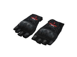 Scoyco MC12D Half Finger Carbon Safety Motorcycle Cycling Racing Riding Protective Gloves Black XL