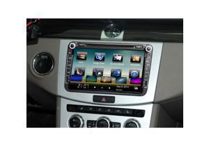 "Universal 3G WiFi 7"" 2 Din Car DVD/USB/SD Player Bluetooth GPS Radio HD Car Entertainment System for All Cars"