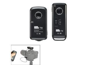 Pixel Wireless Shutter Remote Control T8/N3 for Canon EOS 7D/6D/5D series/1D series/50D/40D/30D/20D/10D