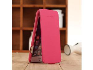 "Fashion Genuine + PU Leather Mobile Phone Ultra Slim Flip Cover Protective Shell for 4.7"" iPhone 6"