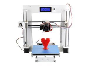 Aurora A3 RepRap Prusa i3 Desktop 3D Printer DIY Kit Suit Sheetmetal Frame Cura Software Injection Molded with LCD Screen ON/OFF Switch Off-line Printing Self-assembly for Artistic Education Industry