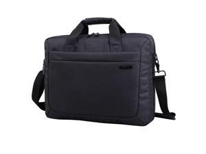 "Kingsons Zipper Sleeve Carrying Handle Bag Shoulder Messenger Briefcase Computer Bag 15.6"" Inches for MacBook Pro Retina Ultrabook Laptop Notebook Portable"