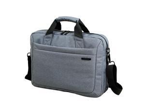 "Kingsons Zipper Sleeve Carrying Handle Bag Shoulder Messenger Briefcase Computer Bag 15.6"" Inches for MacBook Pro Retina Ultrabook Laptop Notebook Portable"