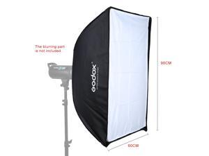 Godox SB-US 60 * 90cm / 24 * 35in Quadrangle Umbrella Softbox with Bowens Mount for Studio Flash Speedlite