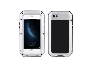 Durable Protective Shell Cover Dustproof Shockproof Fingerprint Function Metal for iPhone 5 5S