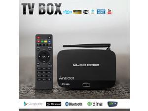 Andoer F7 TV Box HD 1080P  with Remote Controller