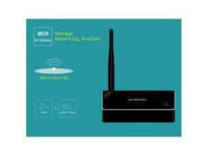 Andoer GTQ Android 5.1 TV Box Amlogic S812 Quad Core Cortex-A9 2G / 8G UHD 4K * 2K HDMI Mini PC Kodi / XBMC / Miracast / DLNA H.265 2.4G & 5.0G WiFi Smart Media Player with Remote Controller