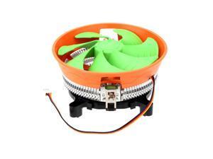 BDK Silent 120mm Detachable Cooling Fan CPU Cooler Radiator for Intel LGA 775/115X AMD AM2/754/939/940